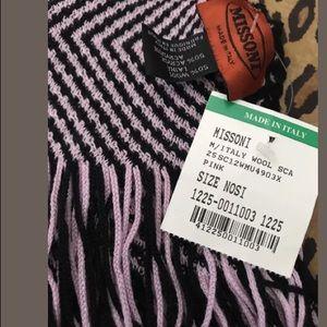 New Missoni scarf NWT $180